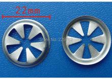 10Wheel opening drive nut locator Ford Auto Metal Retainer Car fastener Clip Automotive - Sara Hu store