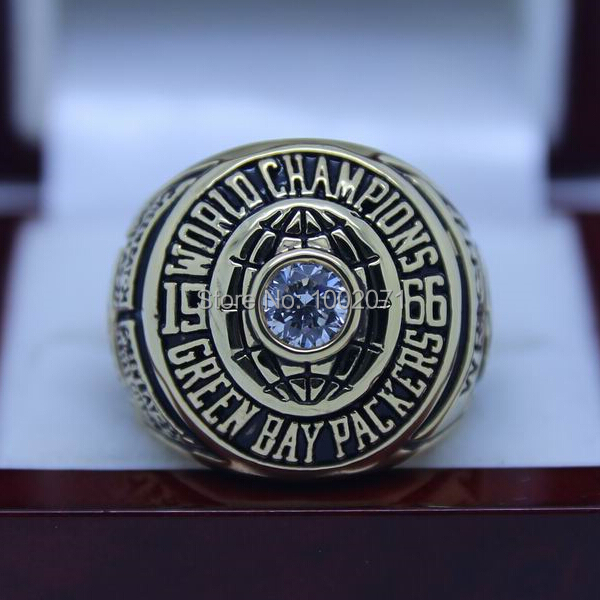 (3 pieces/lot) 1966 Green Bay Packers  Super Bowl Football Championship Ring Best Fan Gift for Men Jewelry Sport Rings<br><br>Aliexpress