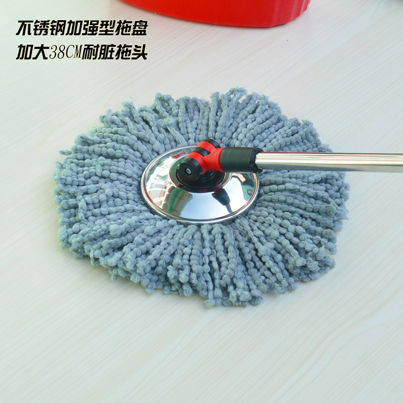 State Rotating Cotton Green Mop Head Replacement Parts Universal Bucket Cotton Mop Head Mops Heads Floor Cleaning Cloth(China (Mainland))
