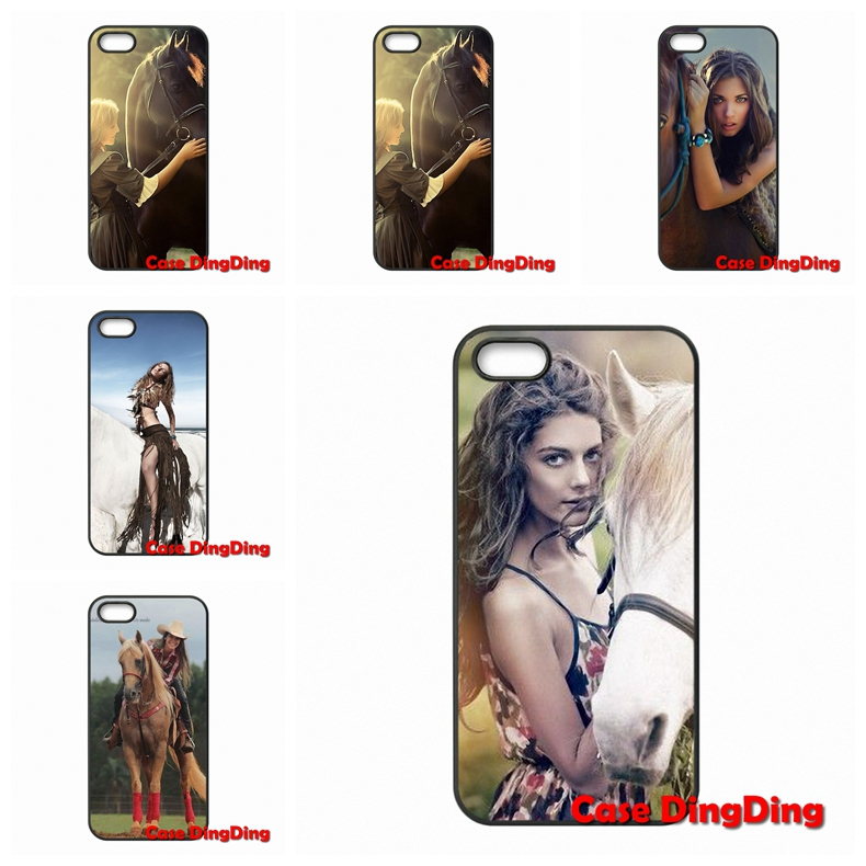 Very Nice Woman and Horse For HTC One X S M7 M8 Mini M9 Plus A9 Desire 816 820 Sensation XL TPU Mobile Phone(China (Mainland))