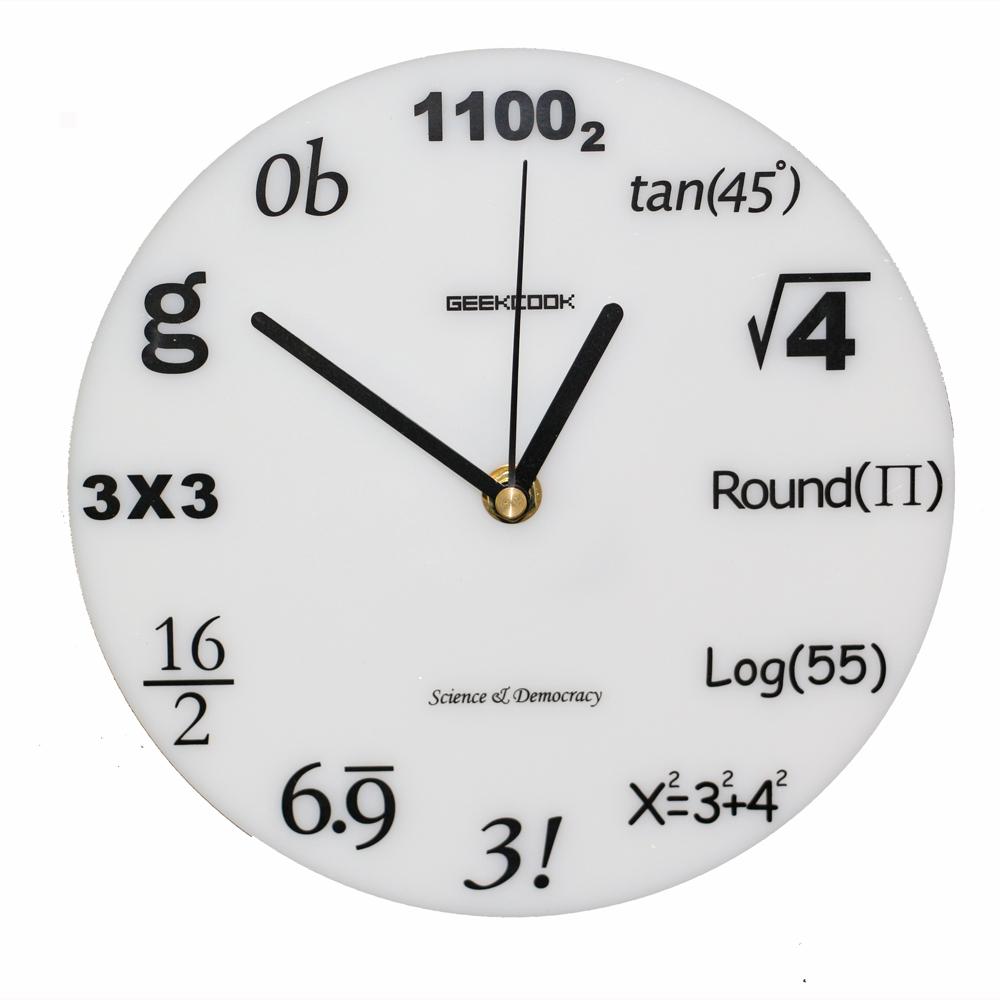 worksheet Clock Math popular clocks math buy cheap lots from china 2017 fashion acrylic wall clock modern design novelty maths equation horloge art watch relogio
