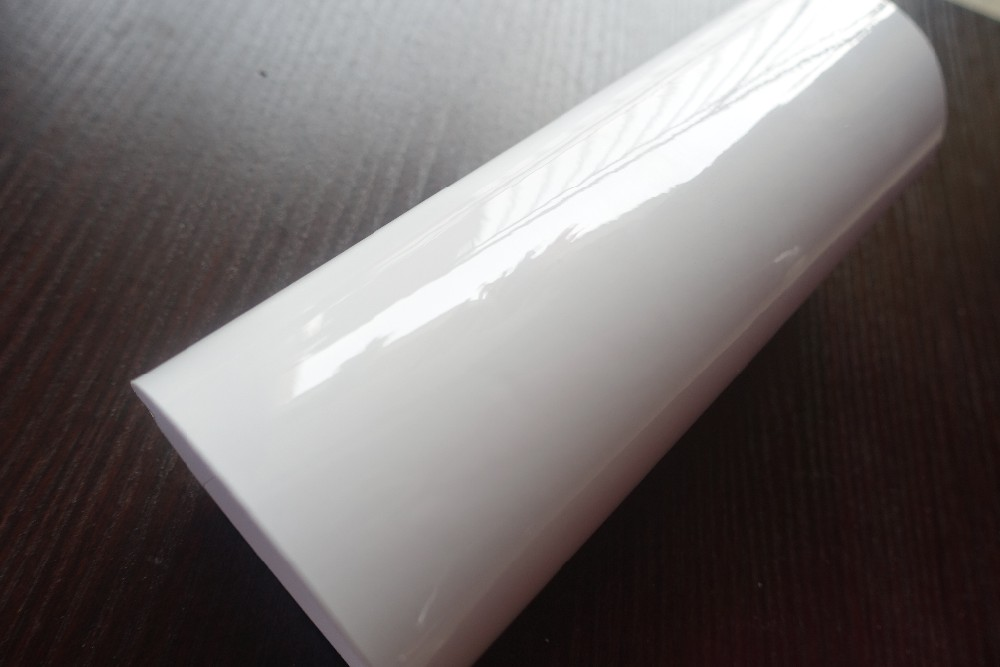 3 LAYERS ICE WHITE CAR WRAPPING FILM WITH AIR BUBBLE FREE (3)