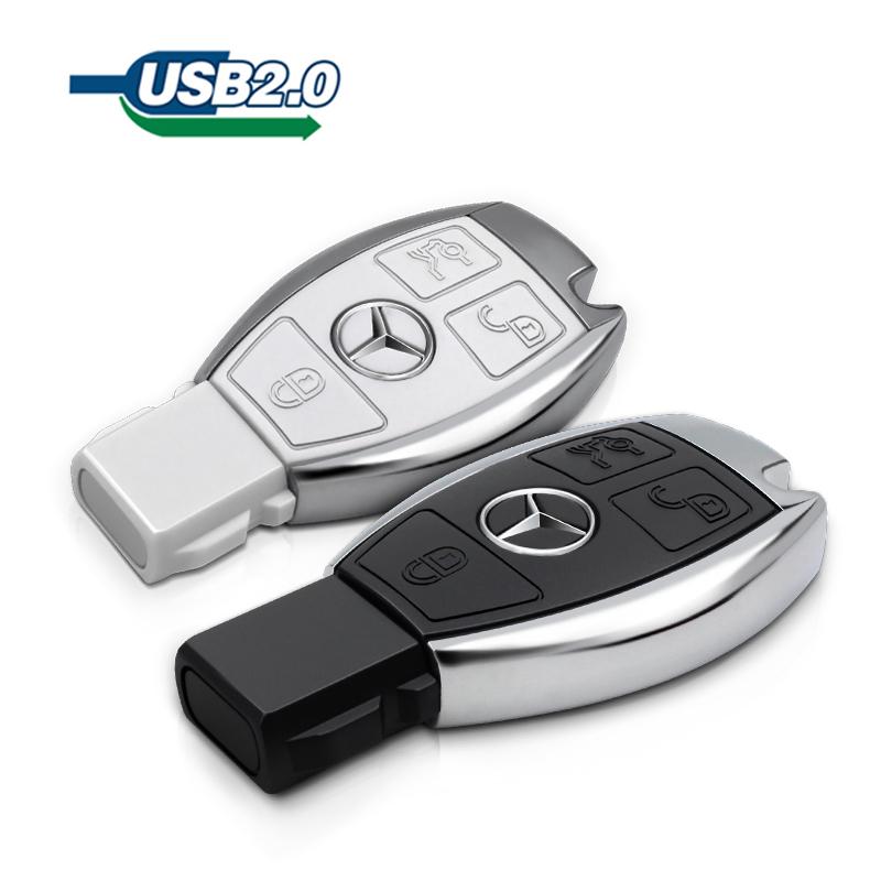Mercedes-Benz car keys U disk mouse USB 8gGB 16GB 32GB 64GB 2.0 USB flash drive USB storage drive pen drive pendrive(China (Mainland))