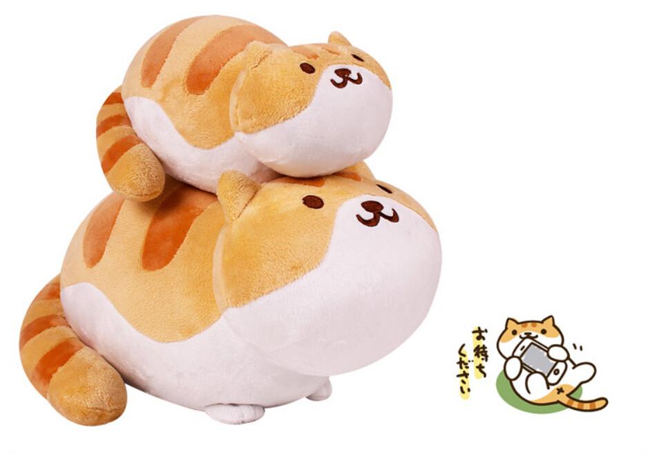 SAN-X toys anime mobile game Neko Atsume Kutusita Nyanko Cat Backyard plush doll toys Kawaii mini Boots cat free shipping(China (Mainland))