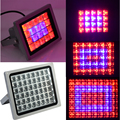 12 40 60 100W High Power Plant lamp grid Spotlights AC85 265V Red Blue LED Greenhouse