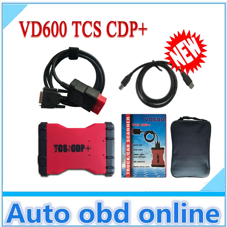 4GB TF CARD bluetooth VD600 TCS cdp+ legal new vci cdp pro Best Diagnostic tools cars trucks dhl - Auto obd online-josan wang store