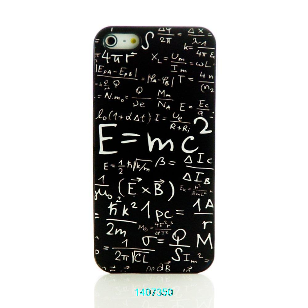 KeYun Unique Black Hard Case Cover E=mc Formula Math Iphone 4 4s 5 5s 5c - ShenZhen keyun Co., Ltd. store