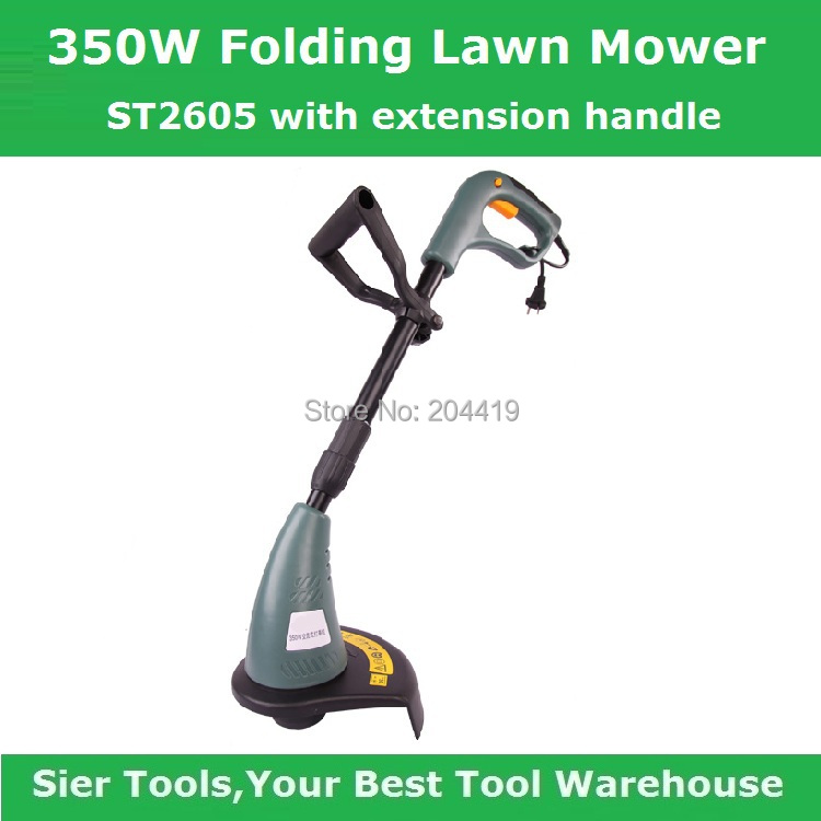 ST2605 Grass Trimmer/350W Folding Lawn Mower/Electric Grass Trimmer/Sier Lawnmower/AC electronic grassmower(China (Mainland))