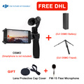 DHL EMS Free shipping DJI Osmo 4K Camera with 3-Axis Gimbal Aerial Photography+Extra Battery + Battery Charger Handheld camera