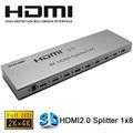VOXLINK 1X8 HDMI 2 0 splitter 4K 3D 1 In 8 Out HDMI Switcher Splitter Video
