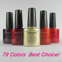Free Shipping 12Pcs/lot Soak Off UV LED Nail Gel and Salon Gel Lacquer For Nail Total 343 Fashion Colors