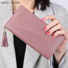 Buy High Capacity Fashion Women Wallets PU Leather Long Wallet Female Double Zipper Clutch Coin Purse Ladies for $9.50 in AliExpress store