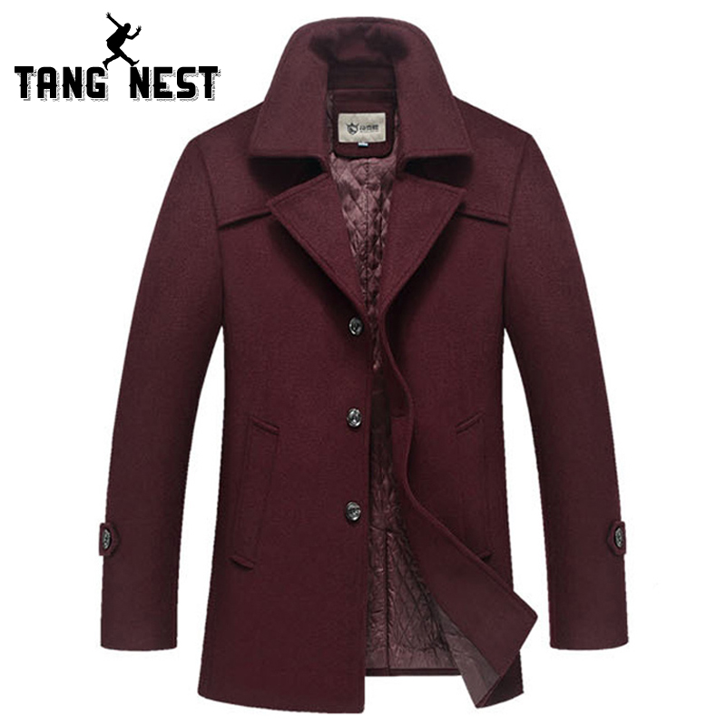 Winter Warn Overcoat 2015 Fashionable Mens New Arrival Slim Fit Coat High Quality Male Commercial Style Thick Coat MWN171Одежда и ак�е��уары<br><br><br>Aliexpress