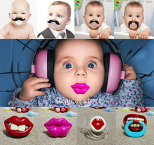 Top Silicone Funny Nipple Dummy Baby Soother Joke Prank Toddler Pacy Orthodontic Nipples Teether Baby Pacifier Care(China (Mainland))