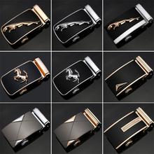 23 Style Luxury Brand Designer Men Belt Buckle Male Kemer Metal Automatic Heads Gold Horses Buckles - Trendy House store