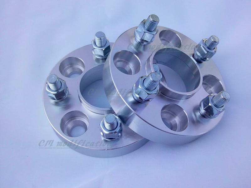 A pair (2 pieces) /30mm of 35mm wheel adapters, wheel spacers 4 x100, suitable for Toyota corolla, vios and yaris(China (Mainland))