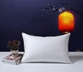 SNOWMAN 90 Pure Goose Down Filled Pillow 1000TC White 100 Egyptian Cotton QUEEN SIZE 7th Anniversary