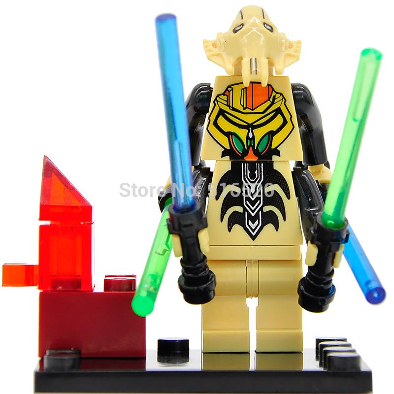 Star Wars 7 Minifigures General Grievous Single Sale Building Block The Force Awakens Starwars Set Models