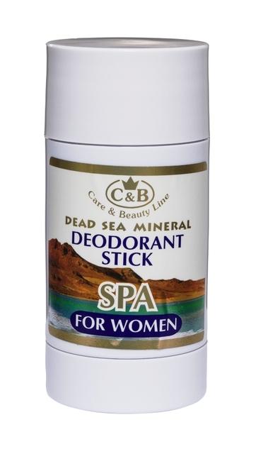 Твердый дезодорант для женщин 80 мл / 2.7 унц. с минералами мертвого моря освежающий ...