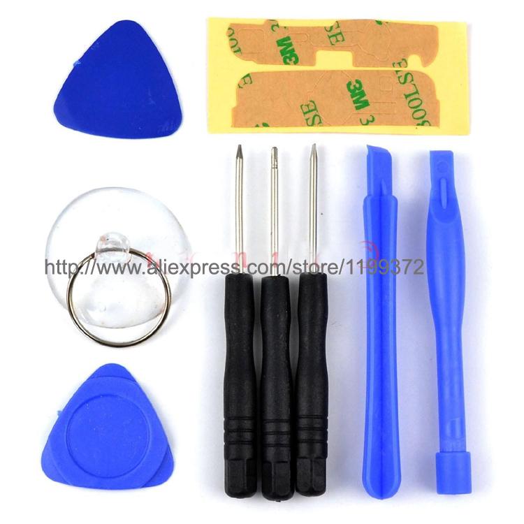 100sets = 900 pcs 9 in 1 Screwdriver Sucker Pry Repair Opening Tool pentalobe Kit Set Tools For iphone 4 4s 4g 5 5c 5s 6 6plus(China (Mainland))