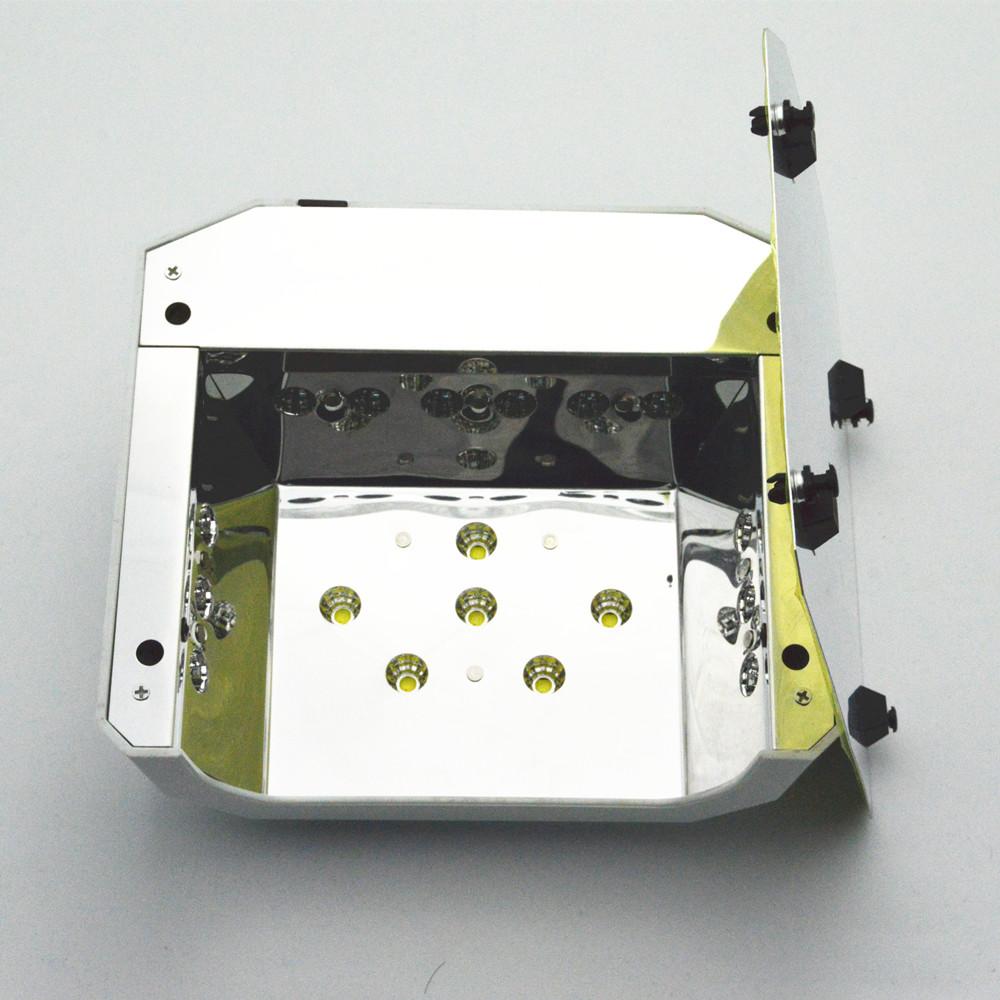 Free Shipping Automatic UV LED Nail Lamp for Nail Dryer Diamond Shaped 36W Long LIife LED CCFL Curing Nail Tools UV Nail Lamps(China (Mainland))