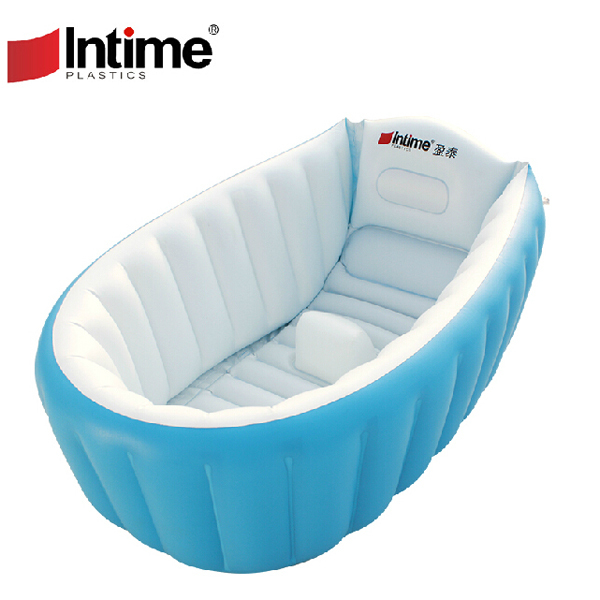 1pc high quality pvc portable inflatable bath tub for baby folding baby bath for kids 0 4 age. Black Bedroom Furniture Sets. Home Design Ideas