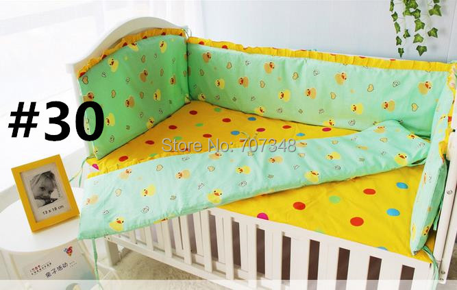 Soft and Comfortable Crib Bedding Sets,Baby Bedding Crib Set,Bumper Thickness: About 4 cm,Optional Beautiful Colors Bedding Sets<br><br>Aliexpress