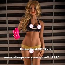 160 см Высокое качество силиконовые взрослых куклы, реальной жизни секс куклы с большой задницей, сексуальная кукла влагалище реального киска анал, продукты секса(China (Mainland))