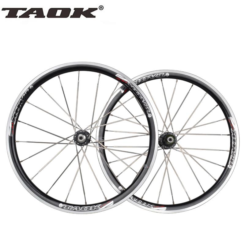 20 Inches 20 Holes 451 Bicycle Wheels Aluminum Alloy V Brake MTB Folding Bike Cycling Bearing Hubs Wheelset(China (Mainland))