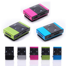 Mini USB Clip Digital Mp3 Music Player Support 8GB SD TF Card(China (Mainland))