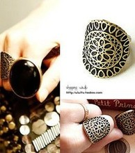European and American retro fashion jewelry rings wholesale vintage carved ring  free shipping