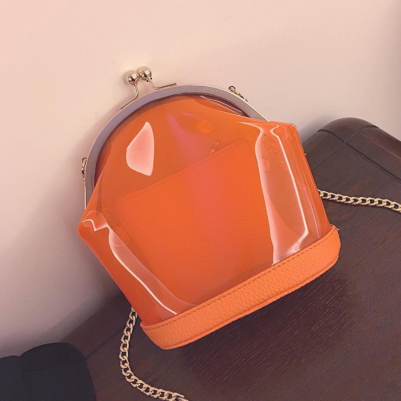 New 2016 summer fashion silicone jelly bag women's transparent beach bags candy color girl shoulder bag free shipping(China (Mainland))