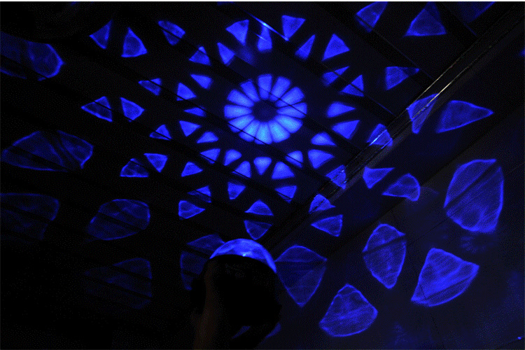 2014 Creative Home LED Star Light Star Projection lamps Nightlight Projector light Mini Stage Light(China (Mainland))
