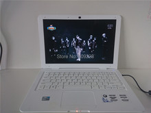 Free DHL Shipment! 13.3inch Laptop intel Atom D2500 Dual Core 4G DDR3 Ram 500GB Hard Disk with WIFI Webcam HDMI Bluetooth