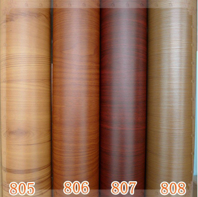 Waterproof furniture wood grain paper wall paper - Tapices para sofas ...