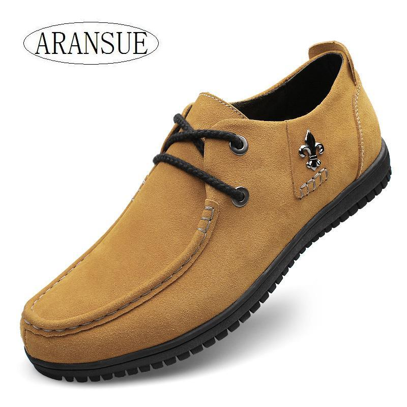 New arrival 2016 large size 37-47 lace up fur leather men boat shoes italian flats casual leather loafers men business shoes(China (Mainland))