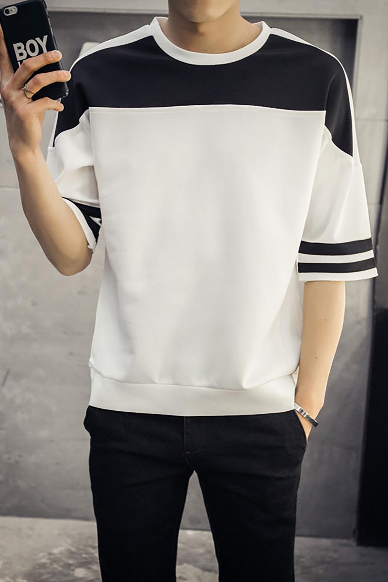 Amazon Quality Drop Shipping 2016 Famous Brand Men T Shirts High Quality Mens T Shirts Casual T-shirt Men Slim Fit T Shirt(China (Mainland))