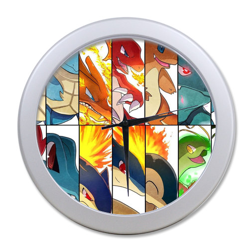 Original <font><b>Home</b></font> <font><b>Decoration</b></font> Customized Pokemon <font><b>Elegant</b></font> Wall Clock Modern Design Watch Wall Free Shipping #0wrek7