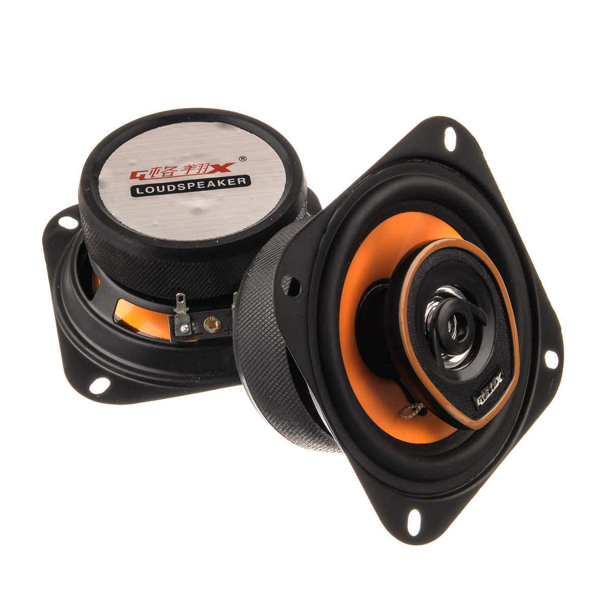 New 2x 5.5inch coaxial car speaker hot sale audio speaker universal all carperfect sound horn speakers YA163