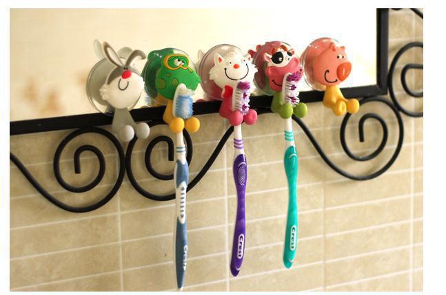 Bathroom set tooth brush Cute Animal Brushing Teeth