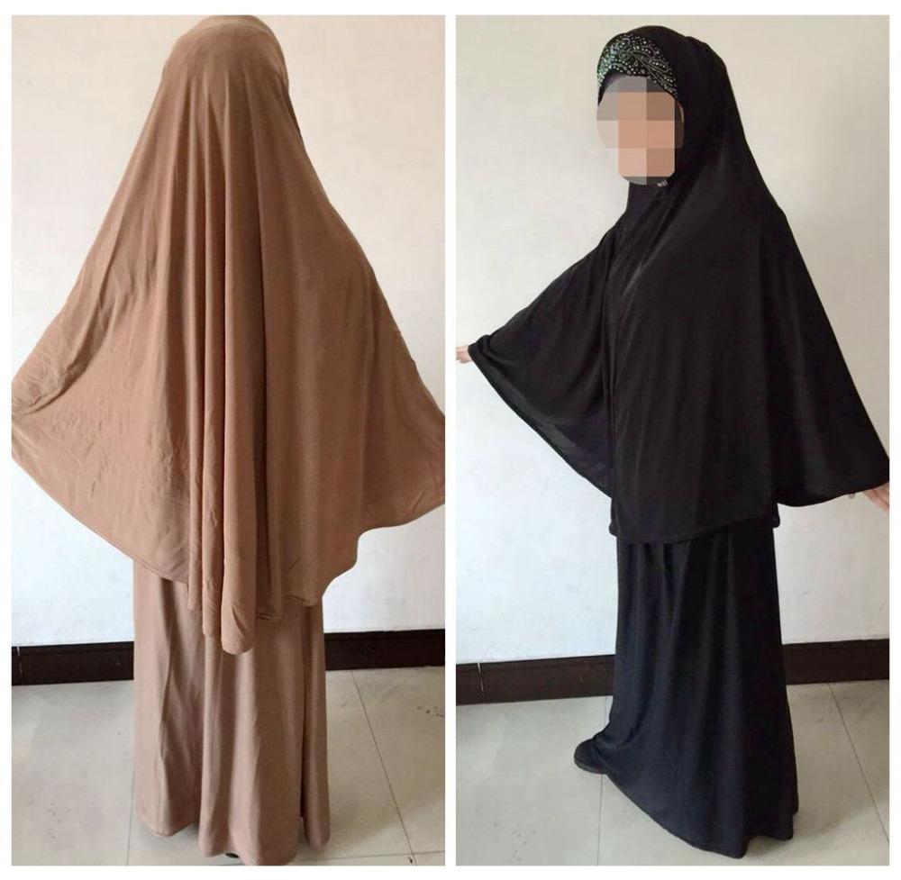 Twee stuk moslim gebed kleding kristallen steentjes turkse ...
