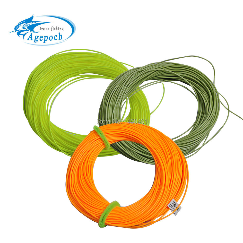 Agepoch 100FT Weight Forward Floating Fly font b Fishing b font Line Fly Line font b