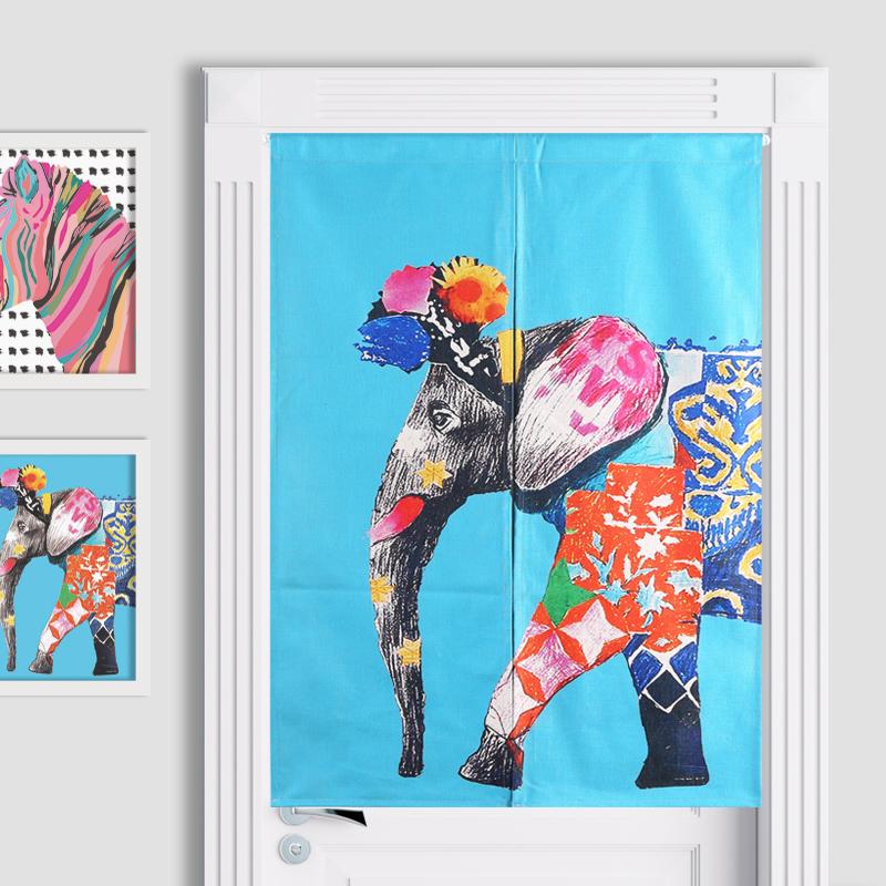 Japon s cortina de puerta compra lotes baratos de - Cortinas estilo japones ...