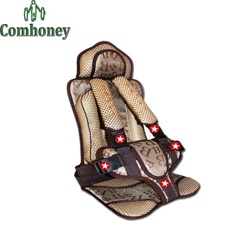 Безопасности малолитражного автомобиля регулируемые дети детей подушка младенец детское сиденье обложка для защиты автомобилей авто жгут перевозчик
