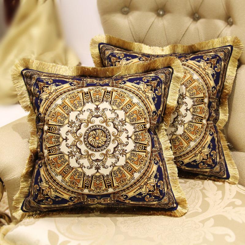 Cushion Queen European Luxury High Grade Sofa Pillow