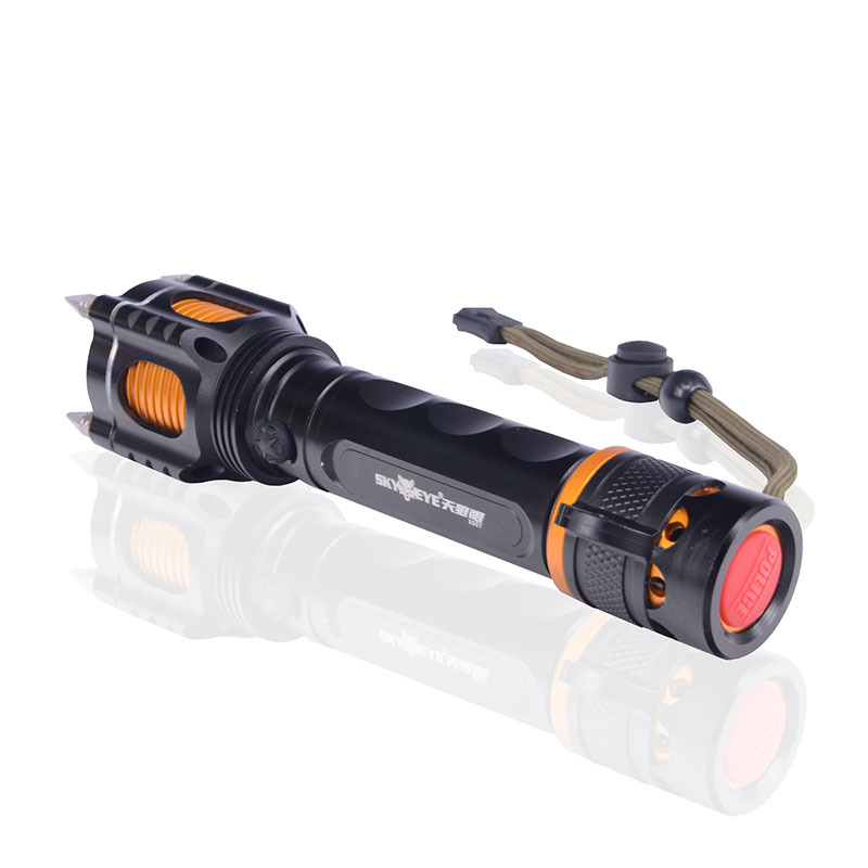 Tactical T6 Flashlight 2000 Lumens Lantern Lampe Torch CREE XM-L Hand Light 5-mode Flashlight Police Linterna(China (Mainland))