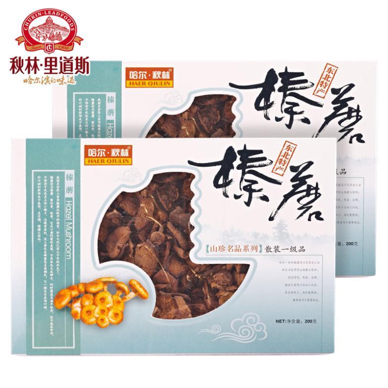 New year Qiu Lin shanzhen wild Northeast specialty Boutique boxed 200g*2 arimillaria stewed chicken with mushroom<br><br>Aliexpress