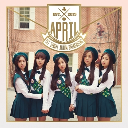 APRIL 1ST SINGLE ALBUM - BOING BOING  Release Date 2015-11-26 KPOP ALBUM<br><br>Aliexpress