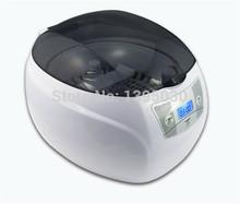 10pc/lot  JP-900s 750ml 50W Mini Glasses Watch Jewelry CD Digital Ultrasonic Cleaner Bath Free  shipping by DHL(China (Mainland))