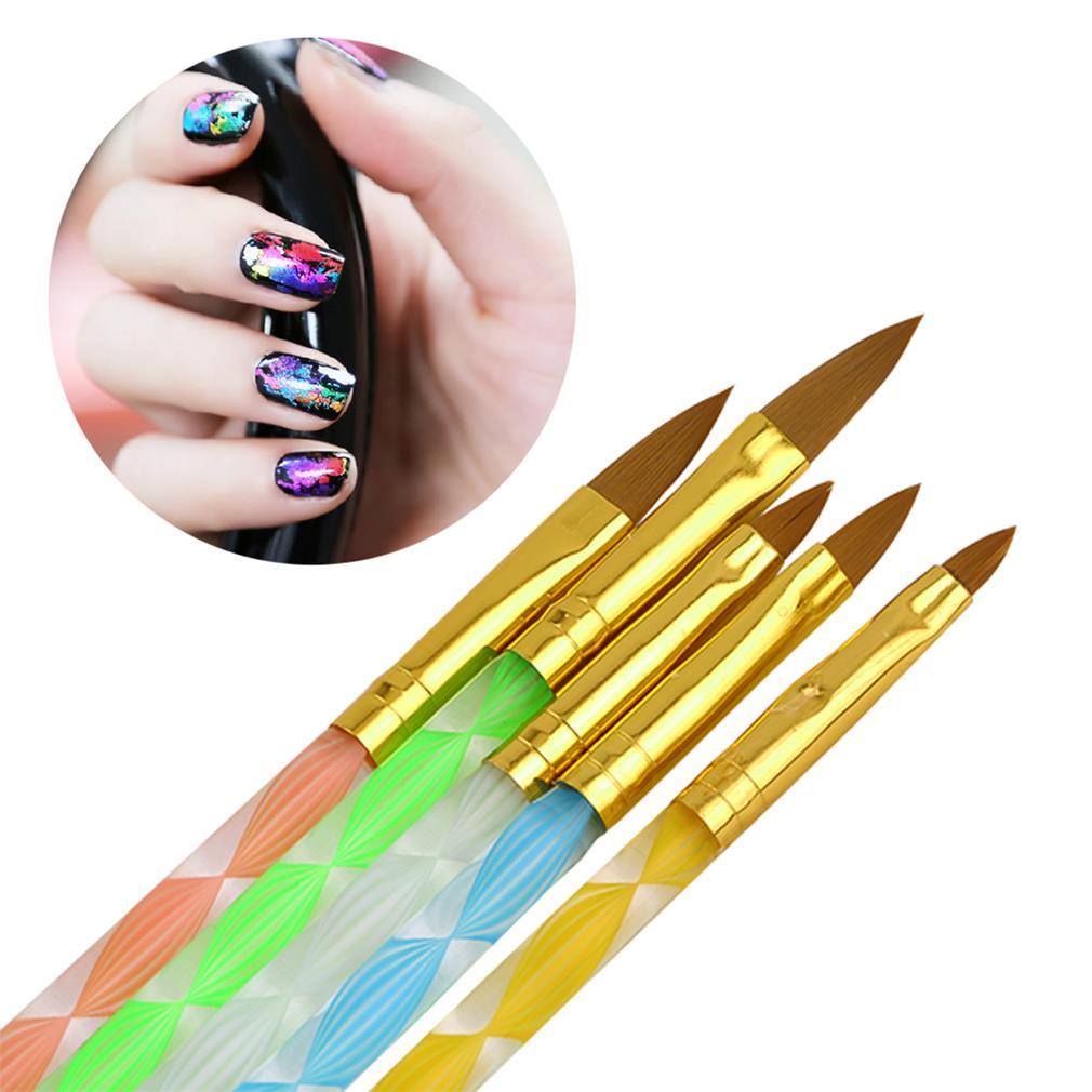 Кисти для геля для дизайна ногтей недорого